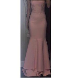 Aurora Pink Mermaid Gown